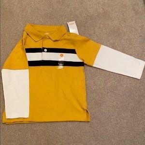 Gymboree Size 3 Long Sleeve Toddler Shirt NWT